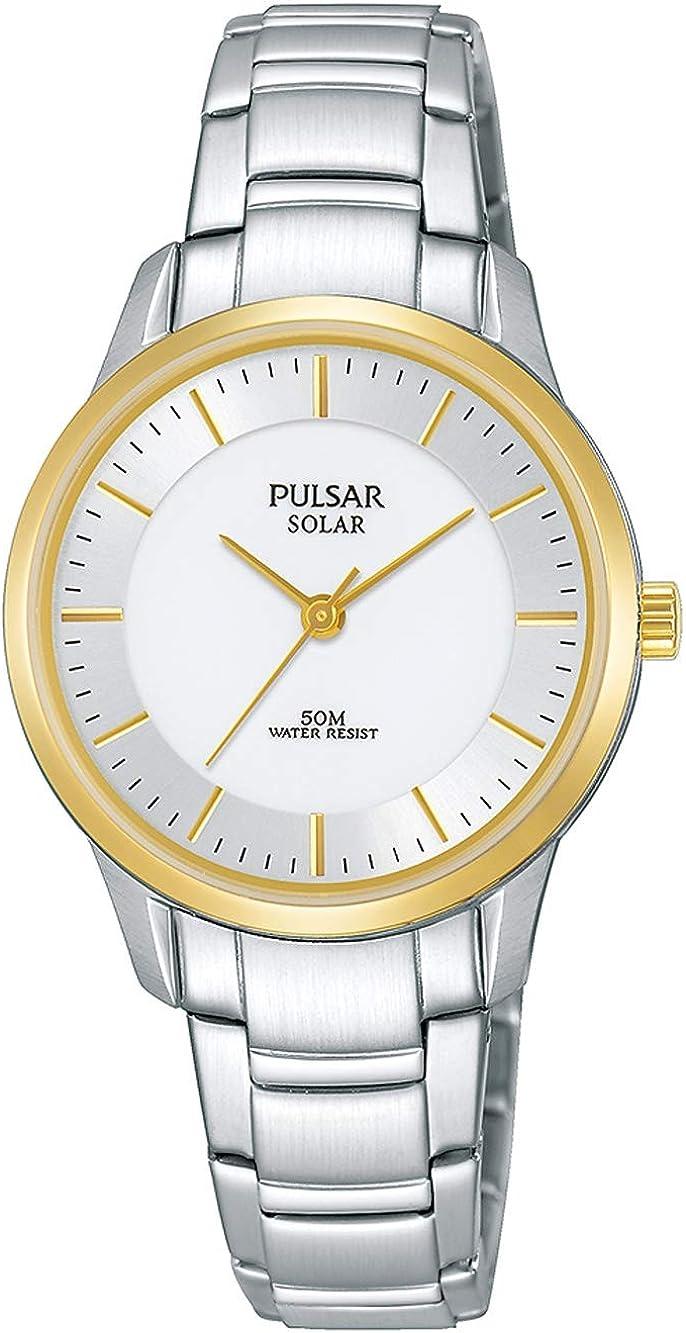 Pulsar Femme Classique à énergie solaire or Rose Montre-Bracelet-Modèle PY5064X1