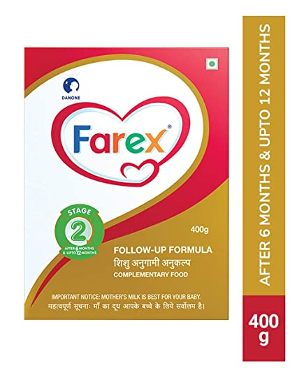 Farex -2 Follow Up Formula Refill - 400 g