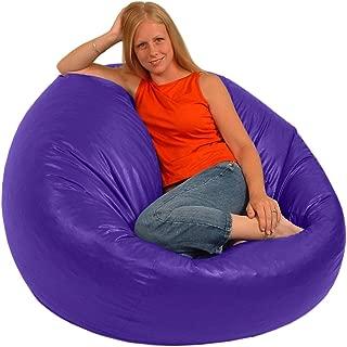 product image for Comfy Bean Beanbag Large Vinyl - Purple