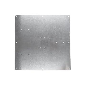 Co-link Placa de Cristal Templado de borosilicato para el Circuito de calefacci¨®n de una Impresora 3D ReprapMK2, 213 x 200 x 3 mm Aluminum Plate