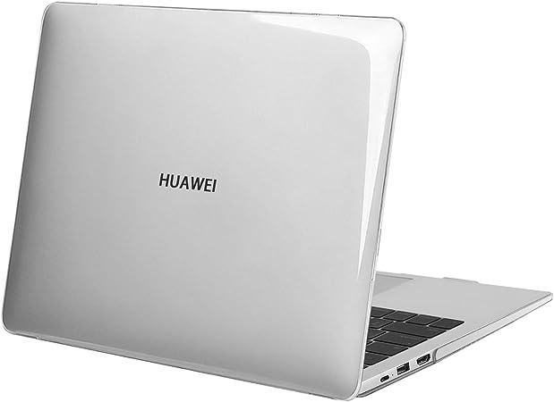 MOSISO Custodie Rigide Compatibile Solo con Huawei MateBook D 14 Pollici, Custodia Protettiva in Plastica Rigida, Cristallino