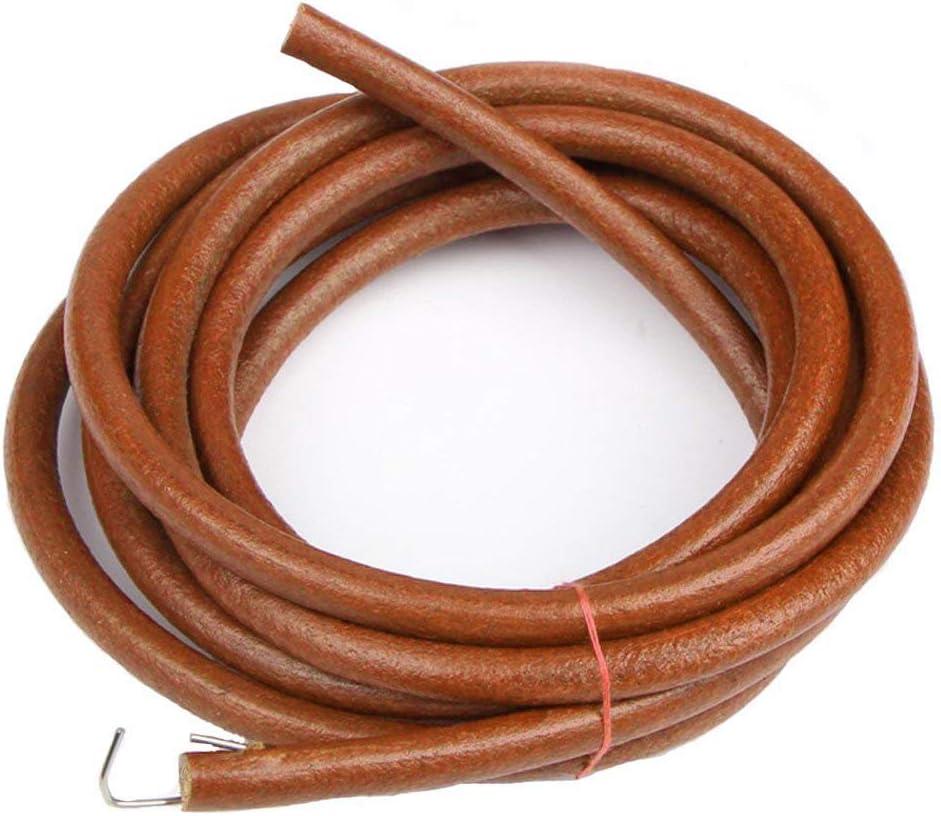 ARay Cinturón de cuero para máquina de coser de pedal, piezas de cinturón de máquina de coser estilo antiguo para Singer/Jones/Vintage (72 in / 183 cm marrón)