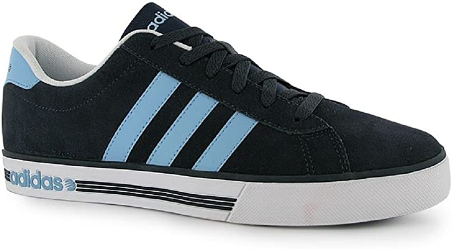 adidas Mens Trainers Neo Daily Team Suede Blue Navy UK Size 9.5 EU ...