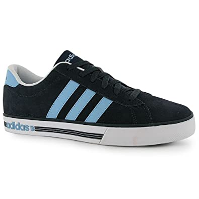 1becc94d85a5e3 Image Unavailable. Image not available for. Colour  Adidas Mens Trainers  Neo Daily Team Suede Blue Navy ...