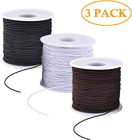 30 Meters Brown Waxed Cotton Beading Cord Thread Line 2mm Jewelry String