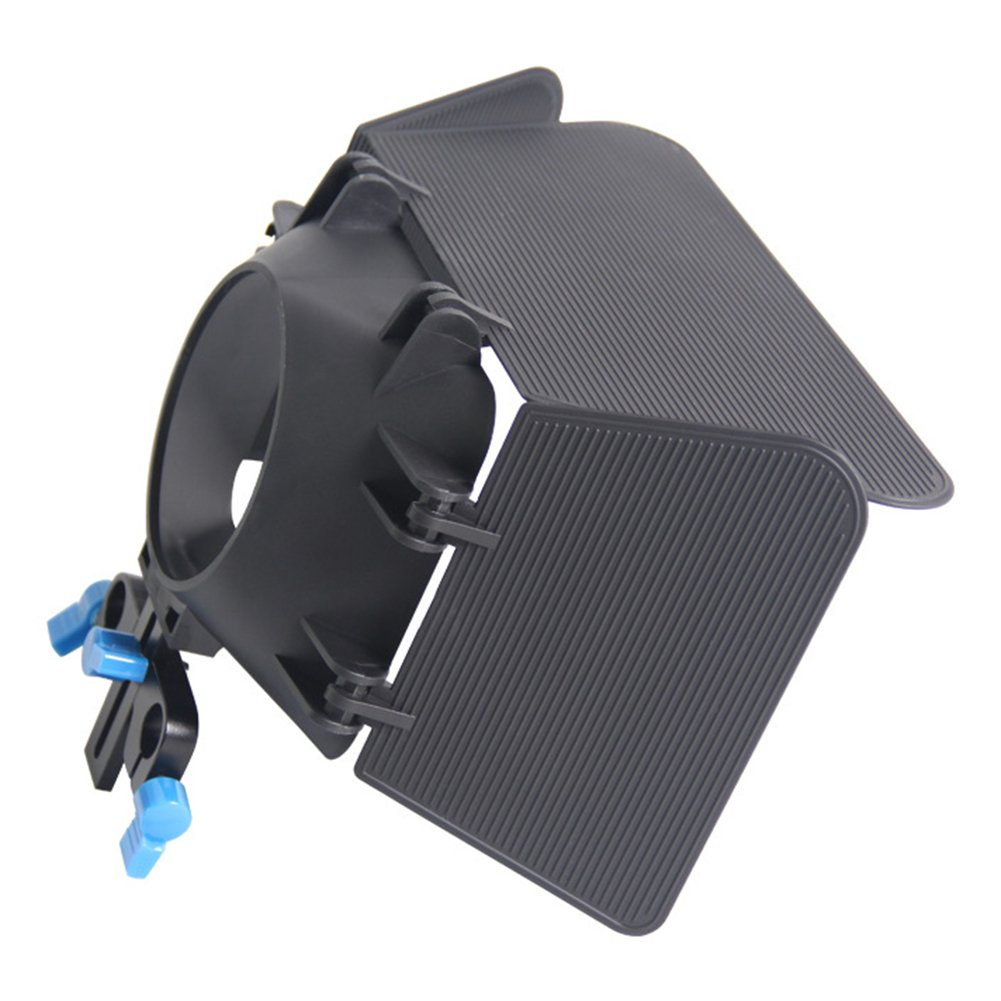 Braceus DSLR Camera Matte Box for 15mm Rail Rod Photography Accessory for Canon 60D 5DII