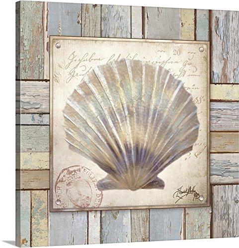 Elizabeth Medley Premium Thick-Wrap Canvas Wall Art Print entitled Beach Shell I 36