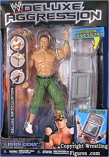 WWE Deluxe Aggression 9 John Cena Action Figure