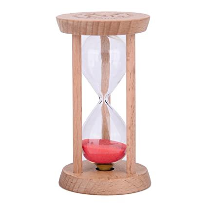 amazon com sand timer wood frame hourglass sandglass sand clock
