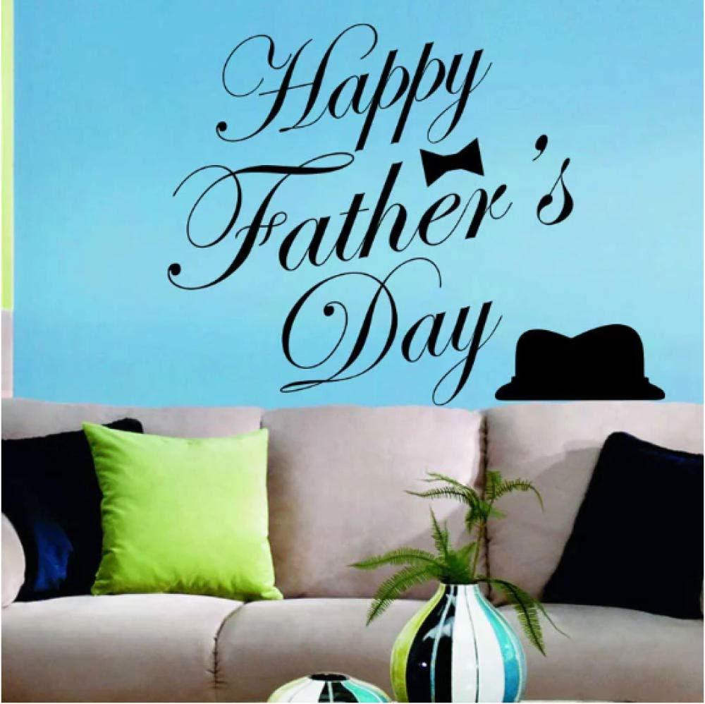 Etiqueta De La Pared/Pegatinas Vinilo Silueta Feliz Día Del Padre ...