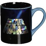 Silver Buffalo SW4432Z Star Wars Episode 4 Laser-Printed Ceramic Mug, 14-Ounces
