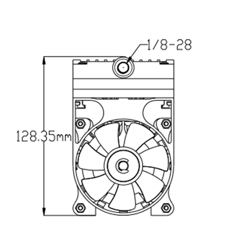 Maisi Mini 110v Diaphragm Vacuum Pump 24l Industrial Gast Pumps Wiring Diagram Scientific