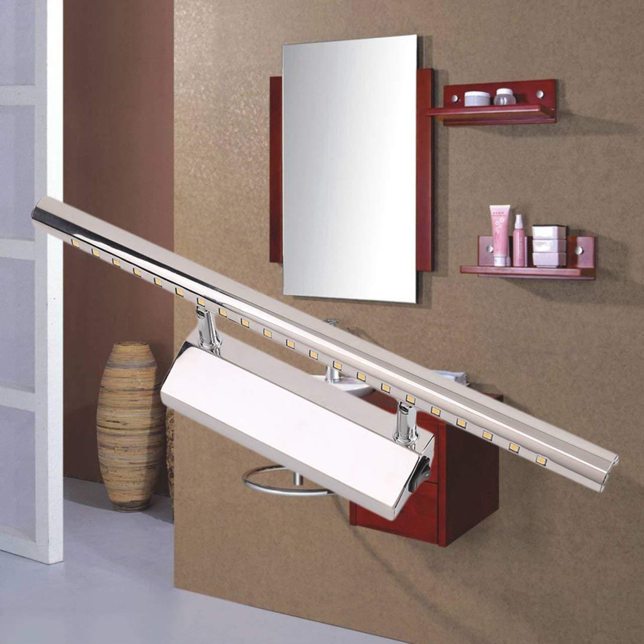 Jasnyfall 7W führte die Spiegel-Lampen-Edelstahl-Wand, die für ...