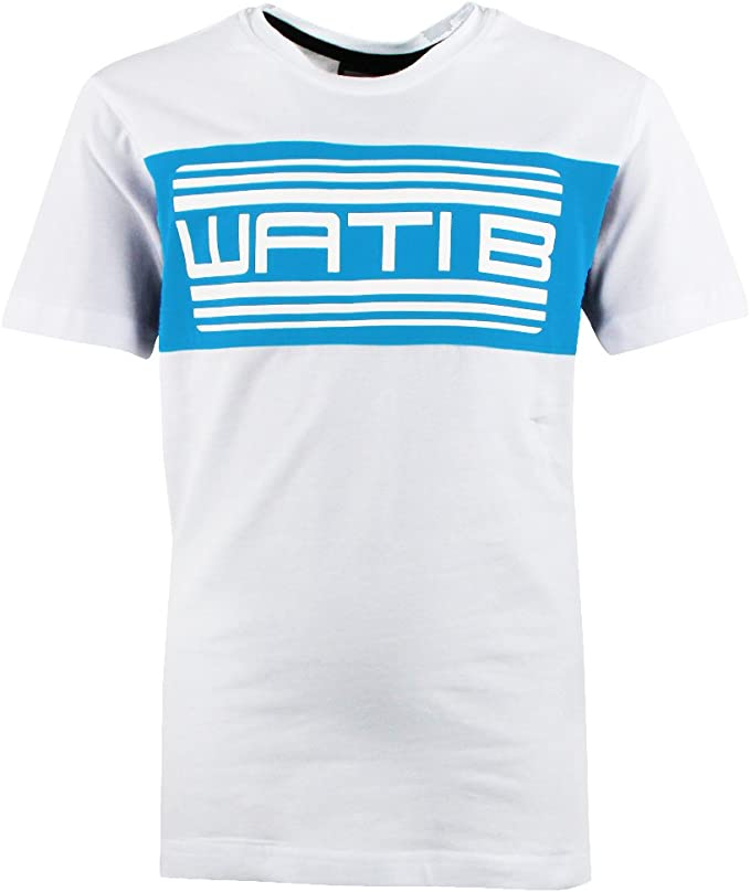 Wati B Nigel 2 Jr Tee Shirt MC Garcon Blanc: