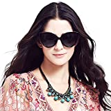 liansan designer vintage retro Oversized polarized women's cat eye sunglasses Lsp401