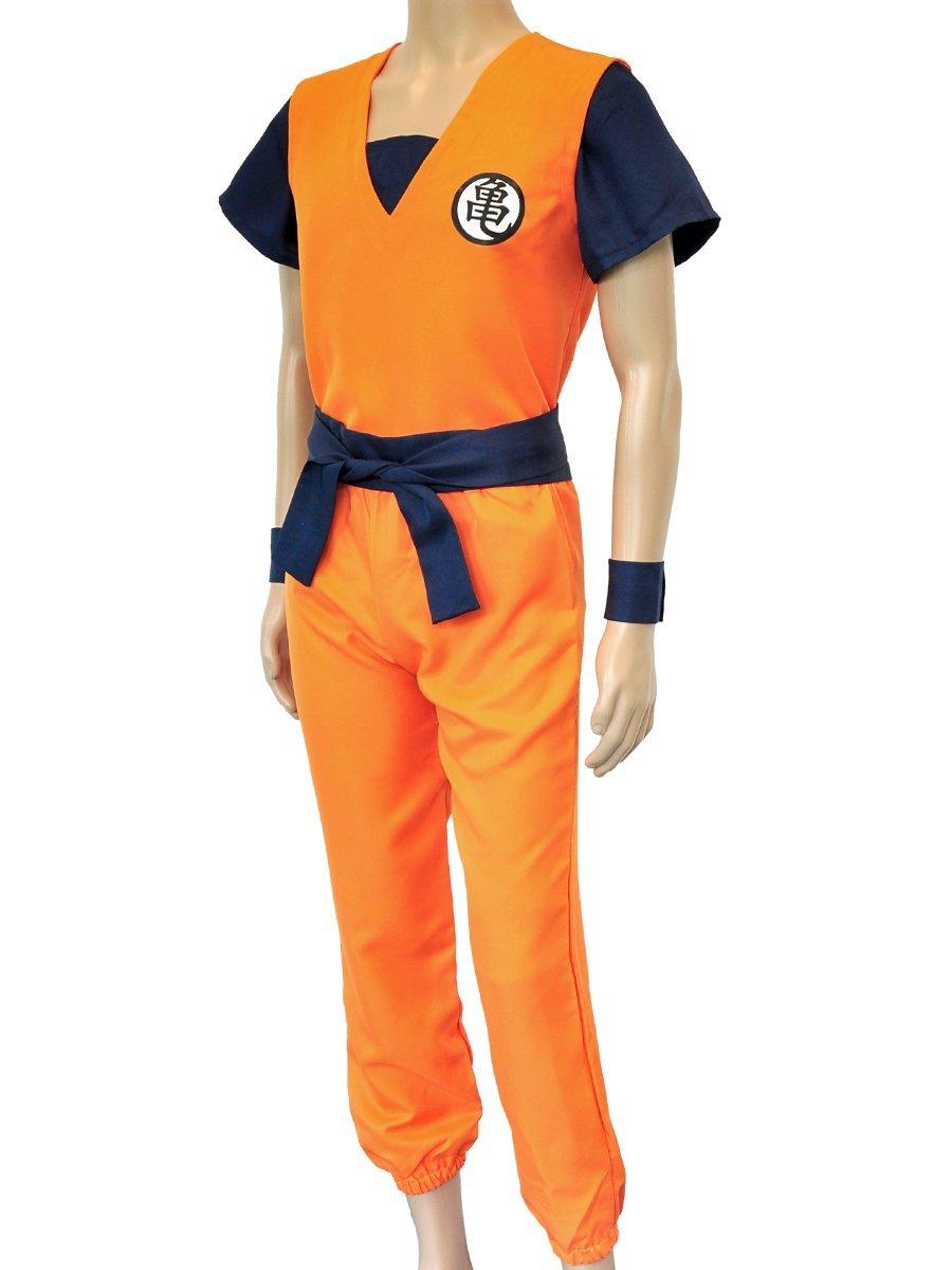 CoolChange disfrace dogi de Entrenamiento de Son Goku de la Serie La Bola del dragón. Talla: S