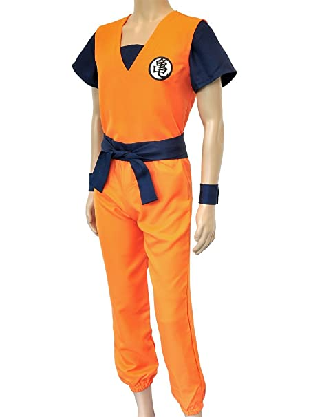 CoolChange disfrace dogi de Entrenamiento de Son Goku de la Serie La Bola del dragón. Talla: L
