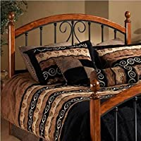Hillsdale Furniture 1258HKR Burton Way Headboard with Rails, King, Cherry