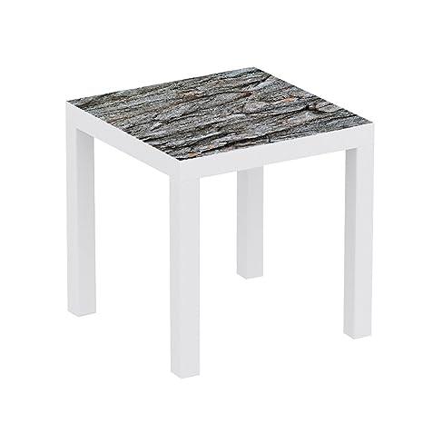Metacrilato para Mesa Ikea Lack Personalizada Corteza tronco ...