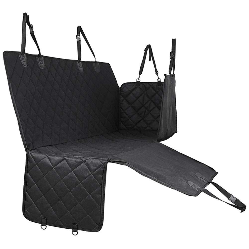 HAOJINFENG Dog Supplies Car Mat Waterproof and Dirty Pad Large and Medium Small Dog Car Seat Cushion Black