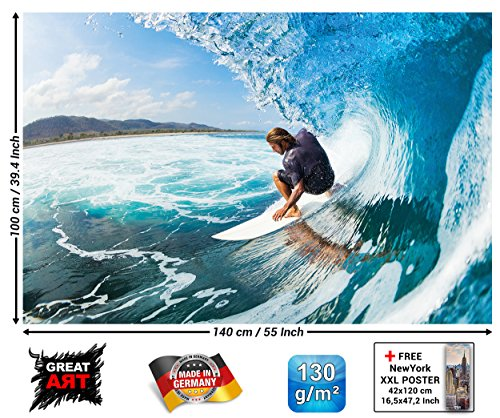 Great Art Surfer Photo Wallpaper product image