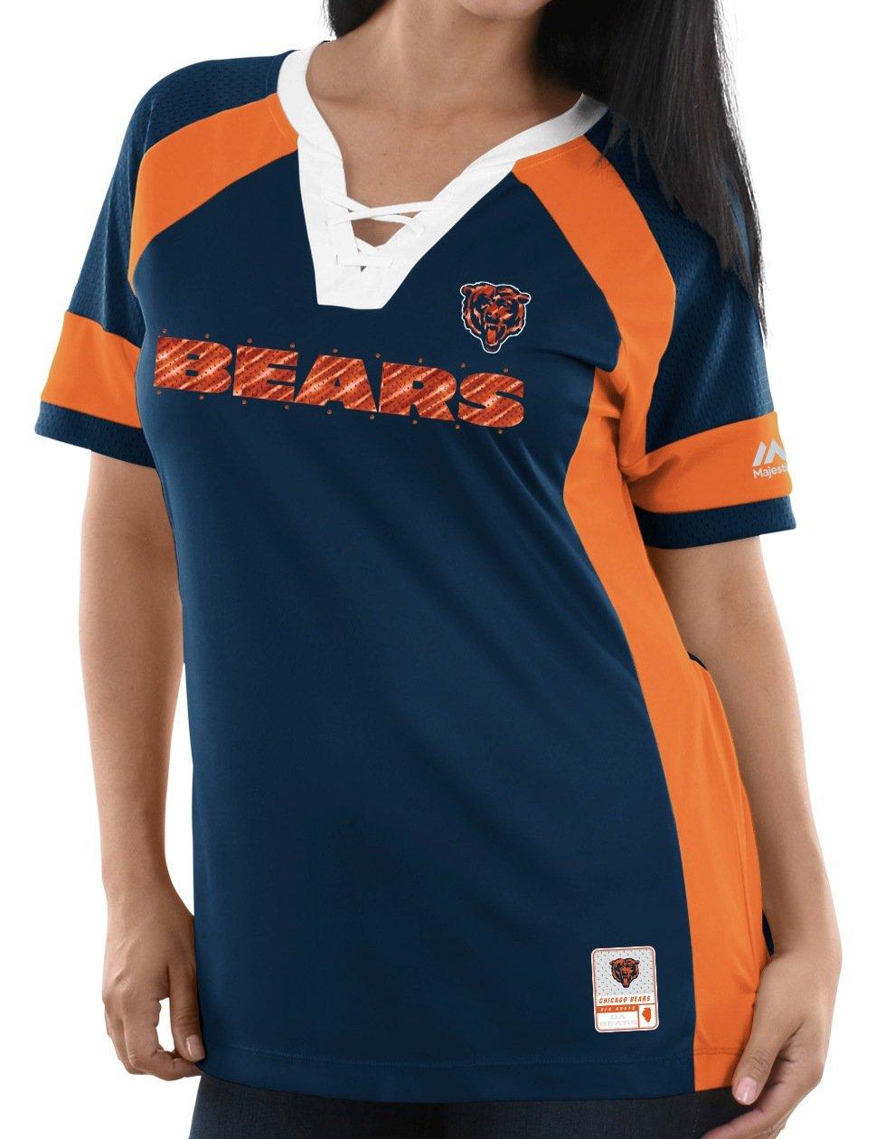Chicago BearsレディースMajestic NFLドラフトMe