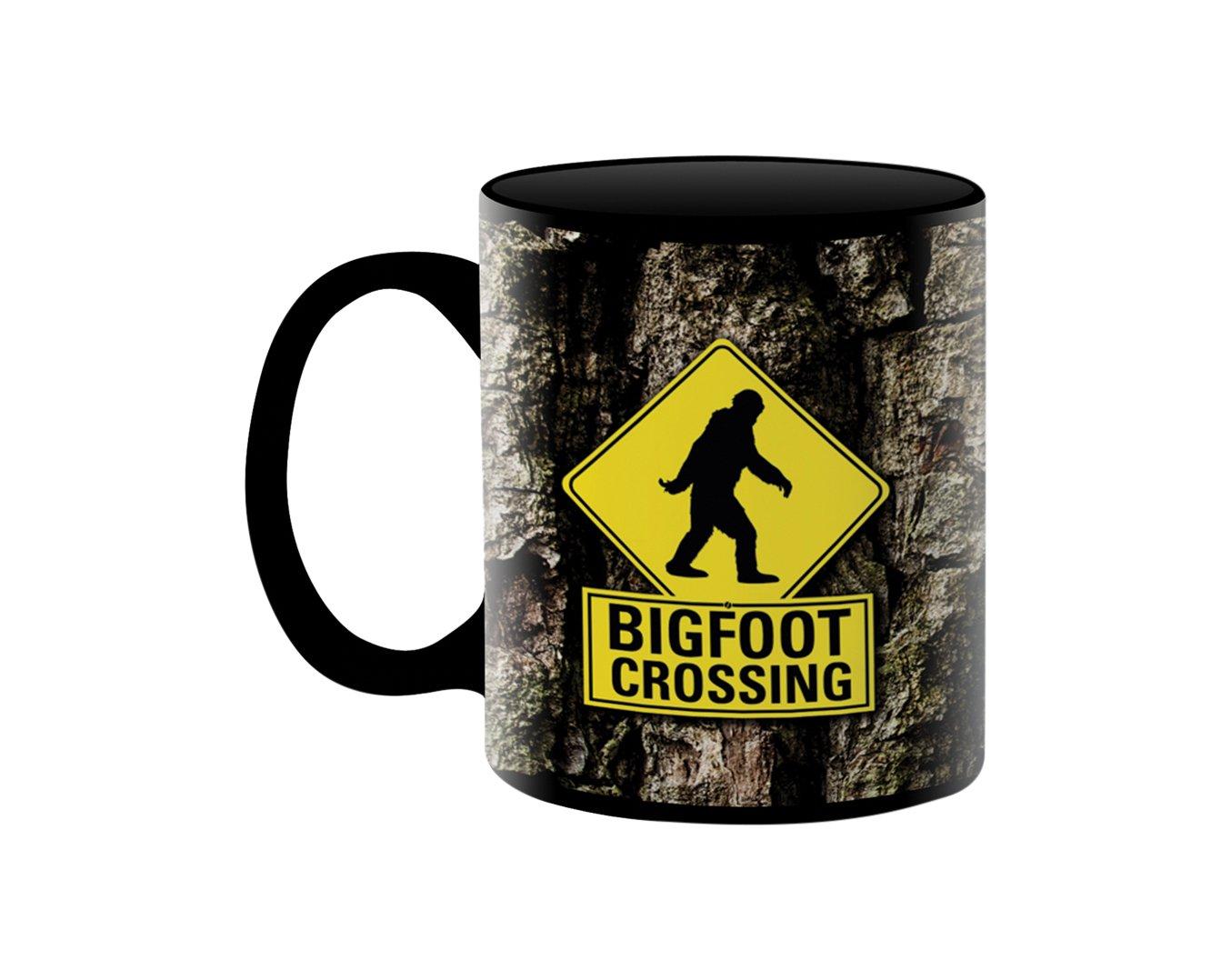 Bigfoot Crossing tazza in ceramica