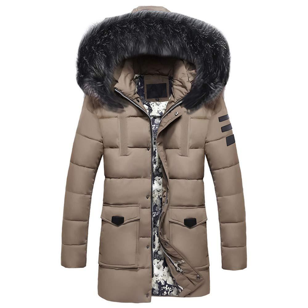 Hombres Invierno Abrigo, BBestseller Hooded Engrosada Chaqueta de plumón para Hombre con Capucha de Invierno Rompevientos Algodón Coat: Amazon.es: Ropa y ...