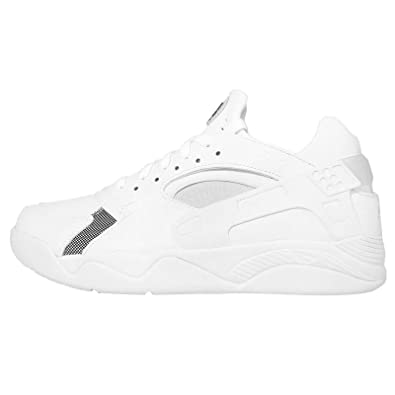 sports shoes e951c f7d52 Nike Men s Air Flight Huarache Low, White Black-Pure Platinum, ...