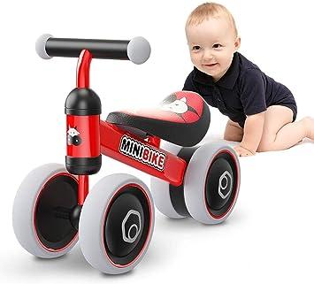 XIAPIA Bicicleta sin Pedales para Niños Bicicleta Bebe 1 Año Bicicleta Equilibrio 2 Año Bicicleta Infantil sin Pedales de Forma Animal Lindo de Regalo Favorito del Niño: Amazon.es: Juguetes y juegos