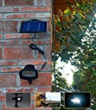 [4 Pack] Solar Powered Waterproof Security