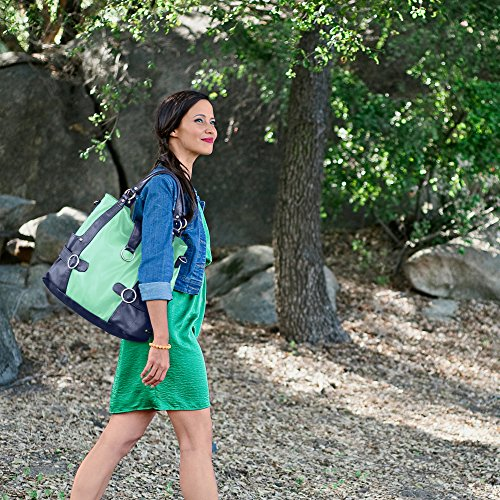 timi & leslie TL-214-01YL Hannah Pastel, Gelb, Marineblau, lederlook mit Inhalt