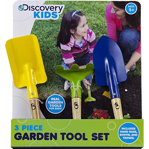 Top Discovery Kids ~ 3 Piece Garden Tool Set hot sale