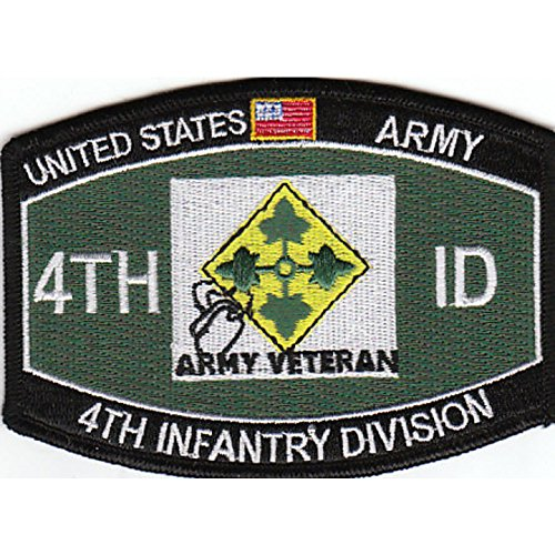 - 4th Infantry Division Military Occupational Specialty MOS Patch Army Veteran