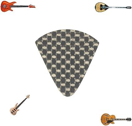 Escala 100% pura fibra de carbono púa de guitarra para bajo plomo ...