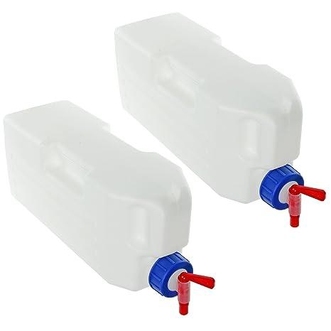 SPARES3GO - Contenedor de agua para frigorífico con dispensador universal (23 litros,