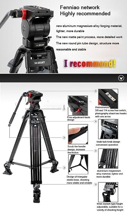 Diat A203 TVP75 Video Tripod for DV: Amazon co uk: Camera & Photo