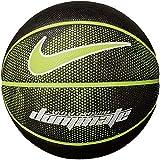 Bola de Basquete Nike Dominate 8P Tamanho 7 - Preta com Branca