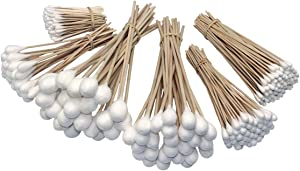 Grip 325 pc Industrial Cotton Swab Assortment Electrical & Pet Cleaning