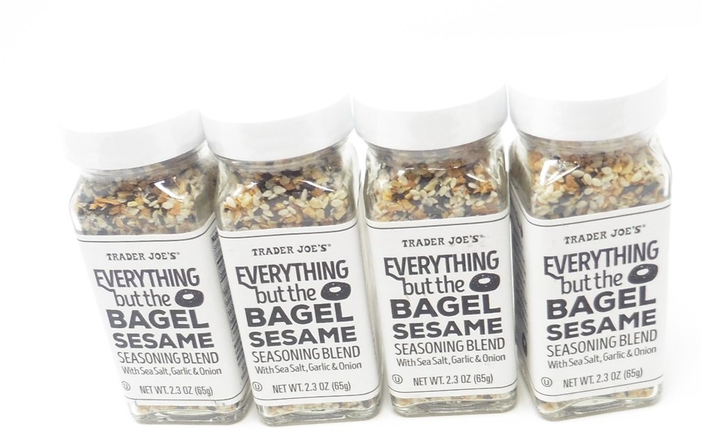 Seasoning Blend Everything But The Bagel Sesame Spice 4/Pk Trader Joes