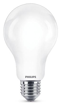 Philips bombilla LED estándar casquillo gordo E27, 11.5W equivalentes a 100 W en incandescencia