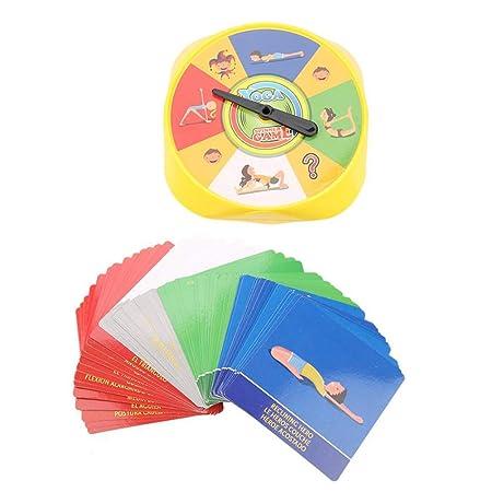 Rivadal 54Pcs Playing Cards Toys - Juego de Cartas con Pose ...