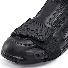Ilm motocicleta accesorios Shifter Botas Zapato Protectora Gear 3colores, Negro