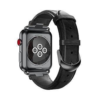 Unpara - Correa para Apple Watch, Elegante, de Lujo, Cristal ...