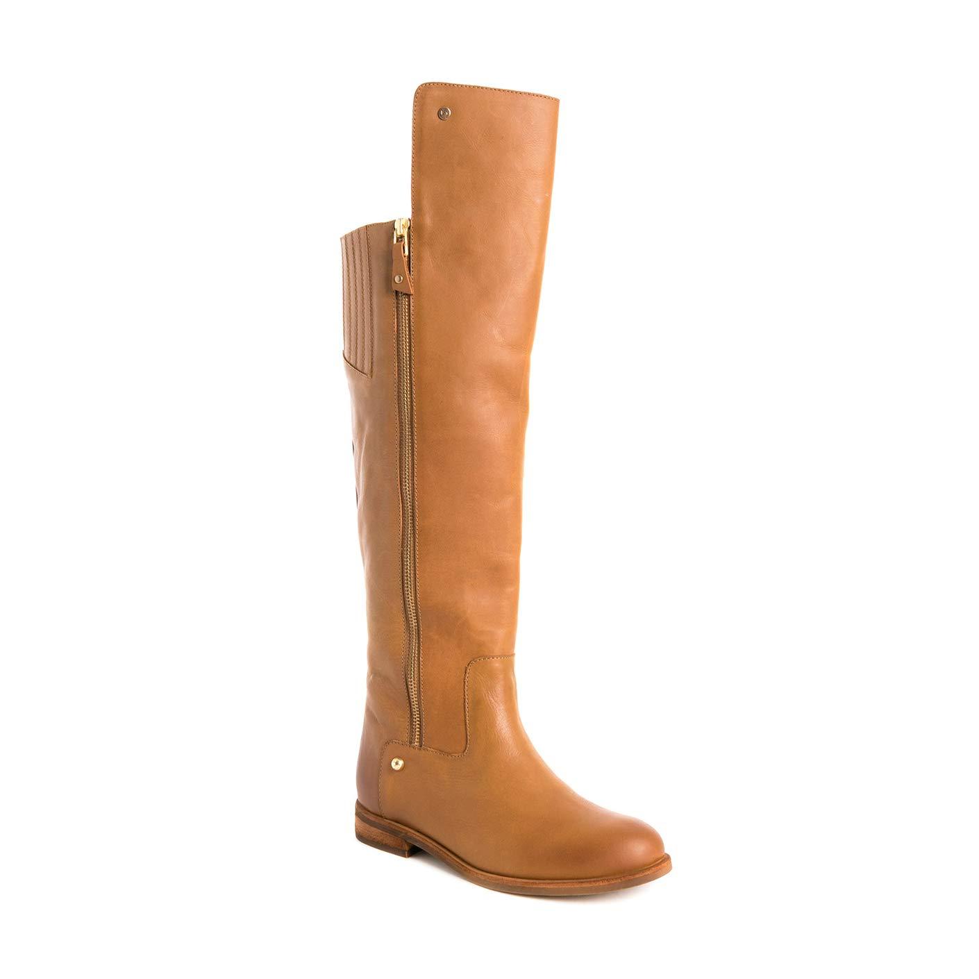 Amazon.com | VELEZ Women Genuine Colombian Leather High ...