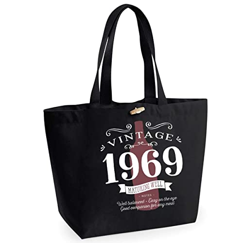 50th Birthday 1969 Keepsake Vintage Wine Funny Gift Gifts For Women