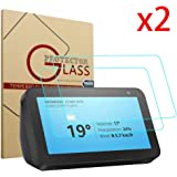 Lamshaw Screen Protector for Echo Show 5 HD Easy Installation Anti-Scratch No Bubble 9H Tempered Glass (2 Pack)