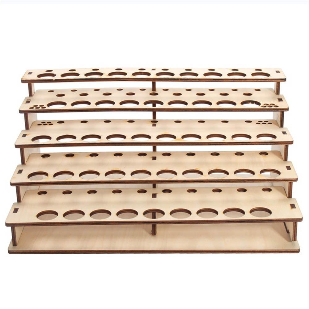 DIY Multi Layer Paints Bottle Storage Rack Wooden Paints Tools Holder Organizer Paints Brushes Bottle Storage Shelf Wood Ladder Paint Tray Modular Organizer Painting Art Tool Stand Paints Stand Rack