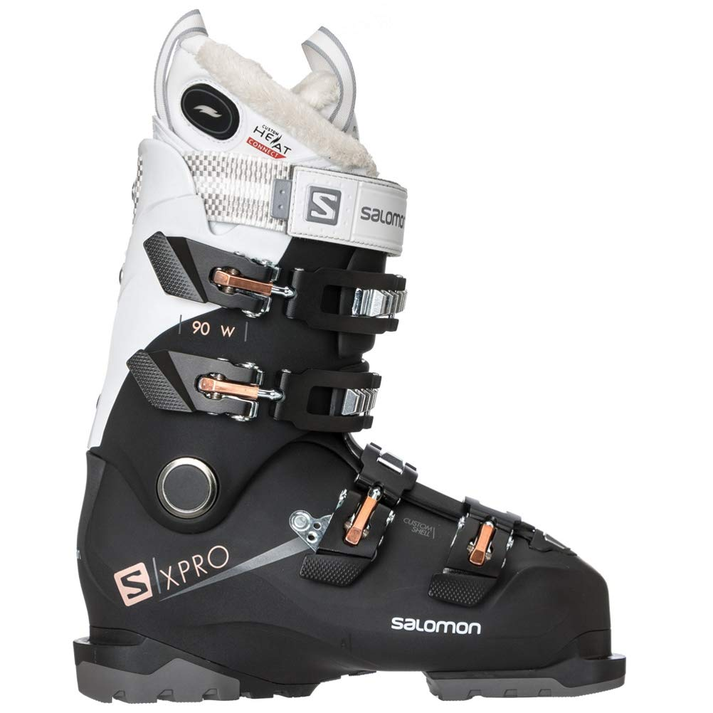 e723978080b Amazon.com : Salomon X-Pro 90 W CHC Womens Ski Boots  2019-26.5/White-Silver-Corail : Sports & Outdoors