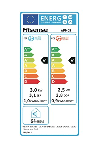 Hisense APH12 Aire acondicionado port/átil